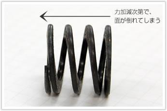 逸品その一. 異形線の圧縮バネ(ダイバネ)
