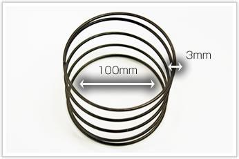 逸品その三.コイル外径(D/d)が大きく、且つ、精度要求の厳しい圧縮バネ