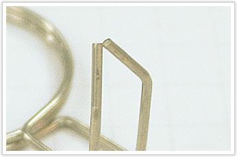 逸品その一. コイル外径(D/d)=20で内径公差+0、-0.1のホースバンド