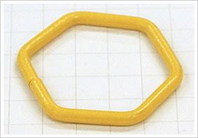 逸品その二. 一発成形のクランプ・アルミ六角リング