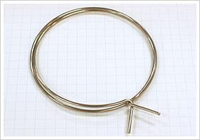 逸品その三. 軟質材料のワイヤーバンド(SUS304-1/8H)