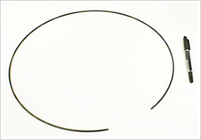 逸品その二. コイル外径(D/d)の非常に大きなワイヤーバンド