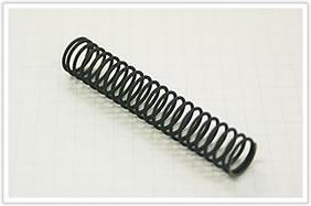 逸品その二. 硬引きチタン線の圧縮バネ