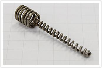 コイル外径の変化、且つ、外径が非常に小さい圧縮バネ