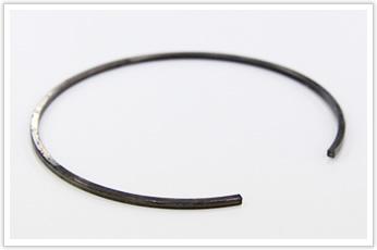 コイル外径(D/d)が大きい、異形線の線材加工品