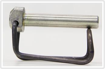 ワンタッチロックの線材加工品