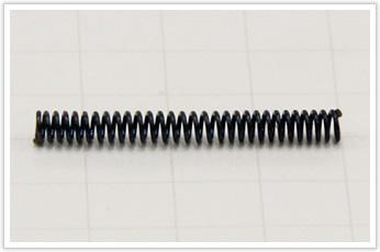 コイル外径が非常に小さい圧縮バネ