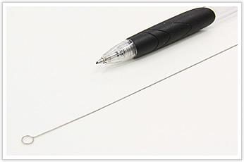 ステンレス鋼線の直線材を加工した線材曲げ加工品