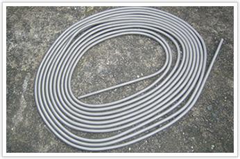 長さ16mの超長巻の密着バネ