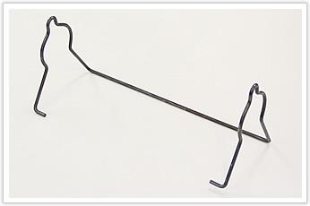 展開長が長い線材曲げ加工品