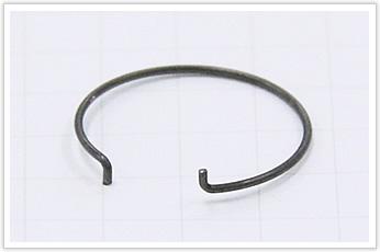 ホースバンドに使用される線材曲げ加工品