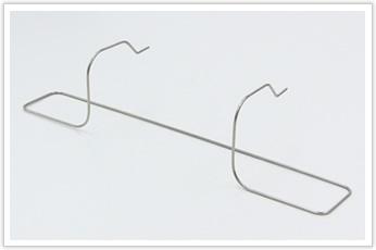 展開長も、直線部も長い線材曲げ加工品