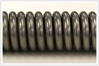 線径がφ3.0以上のピッチ間隔が小さいトーションバネ