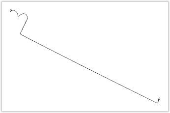 直線部が極めて長いガイドワイヤー