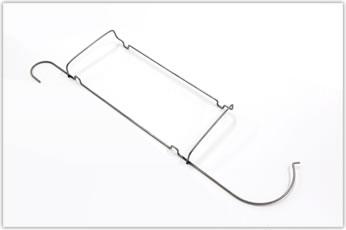 トイレットペーパーホルダー骨組み用線材加工品