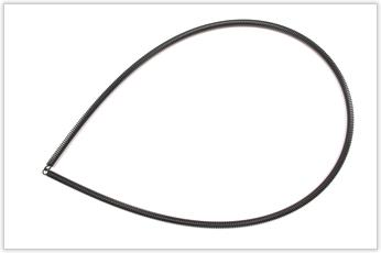 自由長さ1100mm、巻き数420のリング状バネ