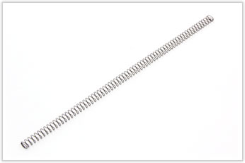 錠剤のシューターに使用される特殊形状バネ