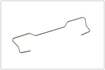 電子部品に用いる左右対称線材加工品