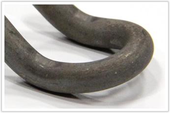 素材を工夫した海洋構造物用の線材加工品