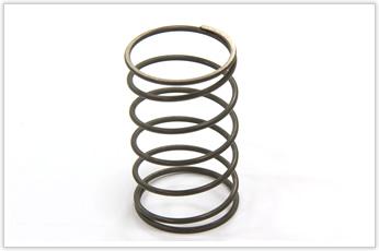 チタンにより軽量化に成功した圧縮バネ