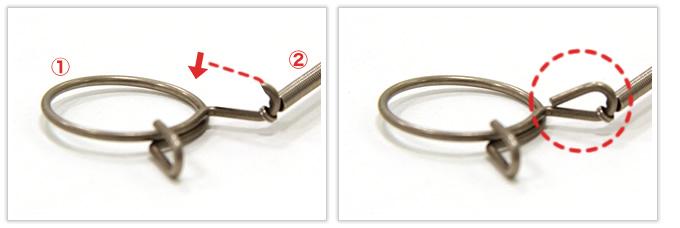 3種類の異なるバネを加工~組み立てまで行った逸品