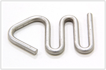 軽量化にアルミを採用した加工品