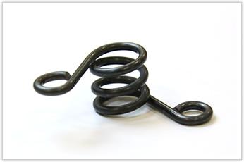 トムソン型(ビク型)に使われる圧縮バネ