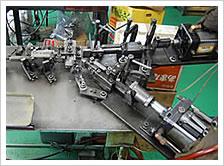 汎用曲げ加工機(シリンダー曲げテーブル)・及び回転テーブル